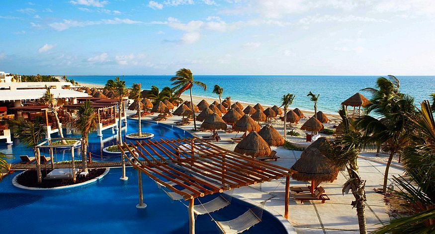 #1 on our list of best all inclusive resorts in Playa Mujeres is Excellence Playa Mujeres