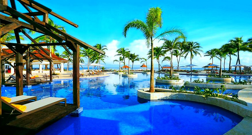 Hyatt Ziva Rose, #1 on our list of Best All Inclusives in Montego Bay, Jamaica