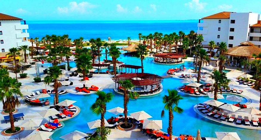 #4 on our list of best all inclusive resorts in Playa Mujeres is Secrets Playa Mujeres Golf & Spa Resort