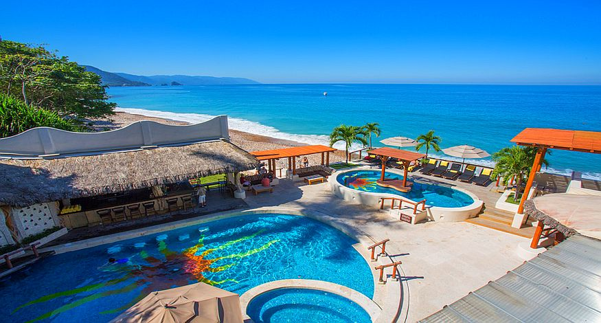 Playa Fiesta Beach Club, #8 on our list of Best All Inclusives in Puerto Vallarta, Mexico