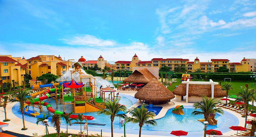 #9 on our list of best all inclusive resorts in Playa Mujeres is All Ritmo Resort and Waterpark
