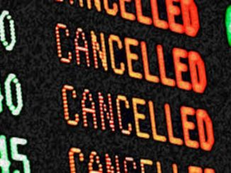 Northeast US Flights cancelled