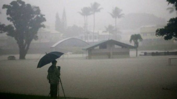 Hurricane Lane Drops Historic Rainfall on the Big Island
