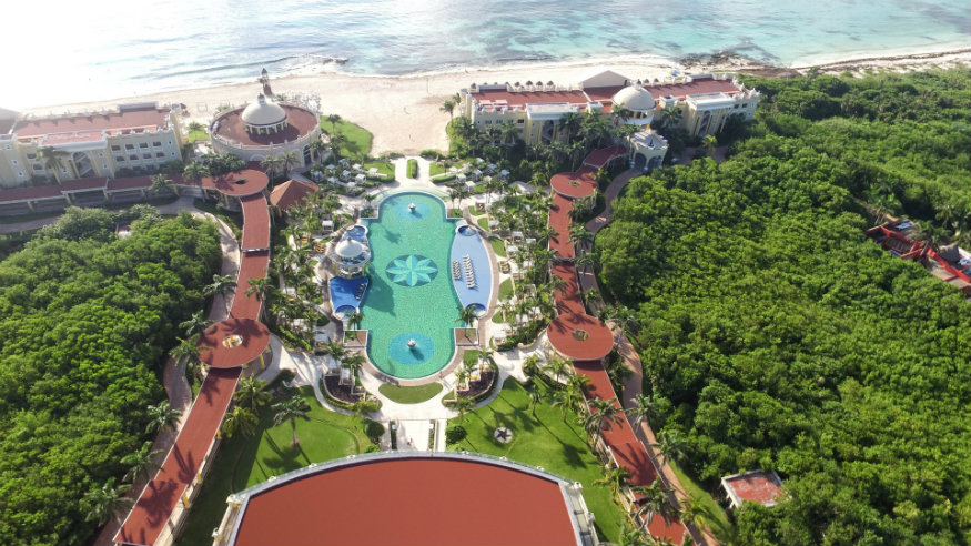 Iberostar Grand Paraiso - one of our best all inclusives in Riviera Maya