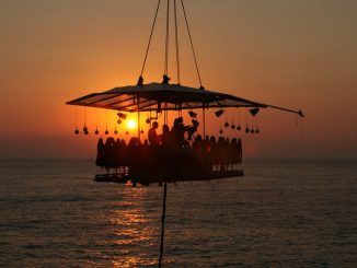 Dinner in the Sky Comes to Cancun