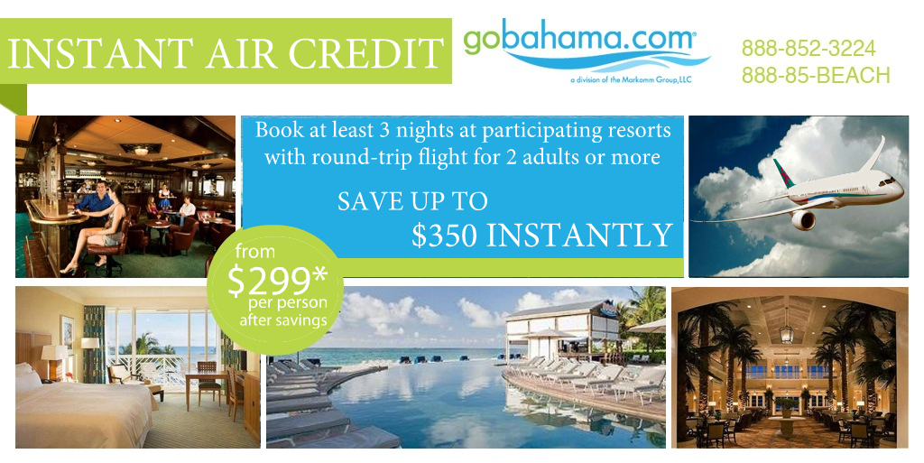 Bahamas Air Credit
