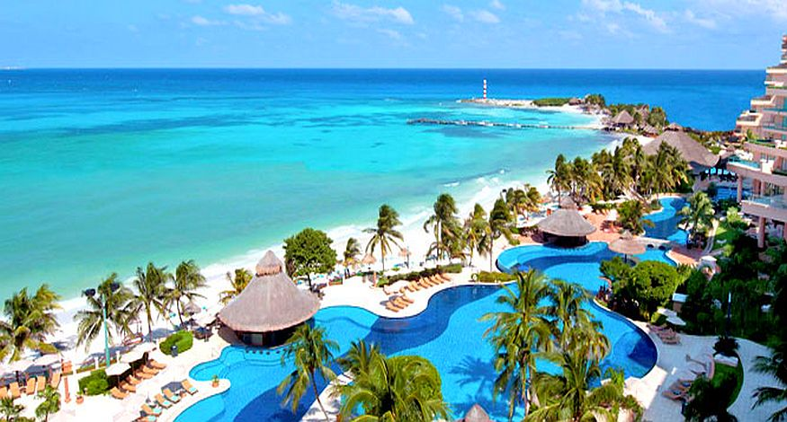 #2 on our list of best all inclusive resorts in Isla Mujeres is Isla Mujeres Palace