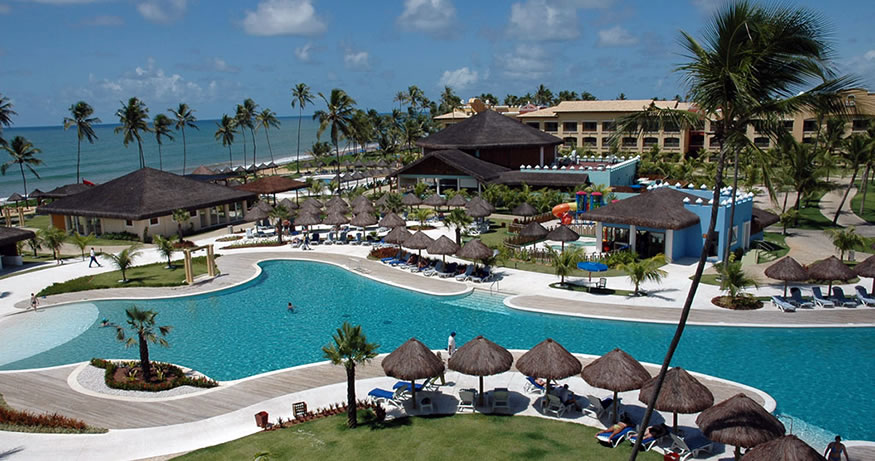 On our list of best all inclusive resorts in South America is Iberostar Praia Do Forte