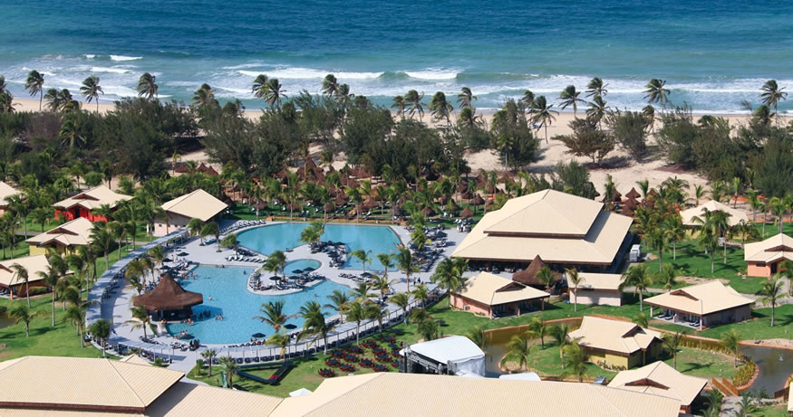 On our list of best all inclusive resorts in South America is Vila Gale Cumbuco