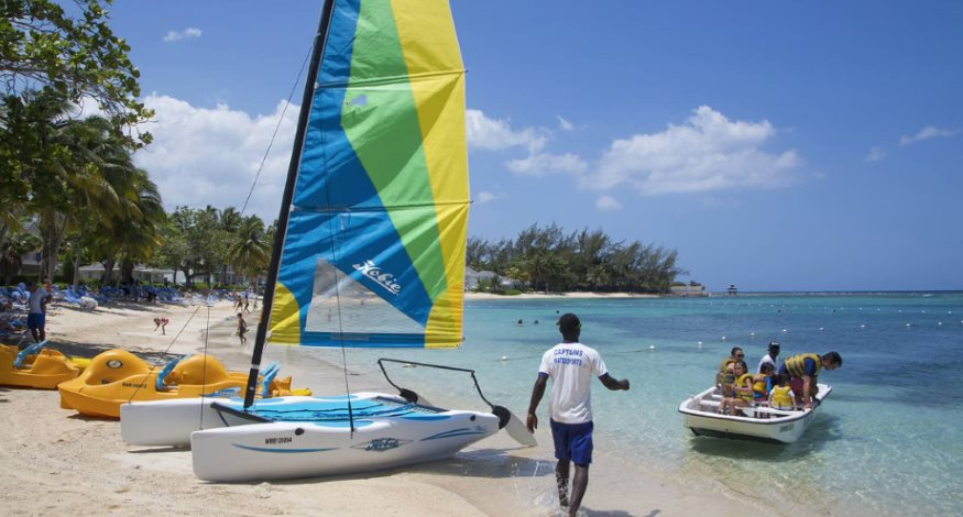 Watersports at Half Moon Jamaica