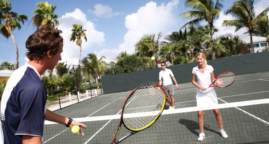 Tennis at Club Med Columbus Isle