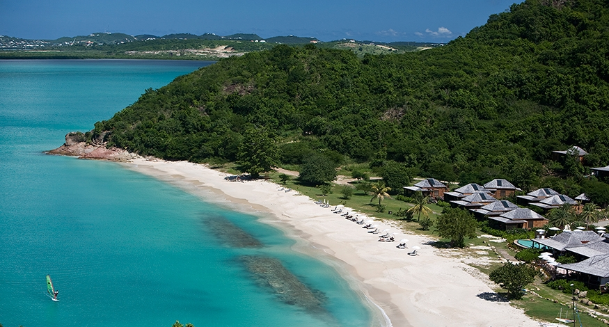 Hermitage Bay Resort in Antigua