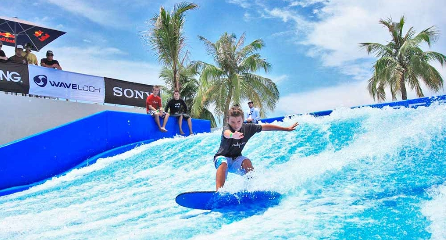 FlowRider at Moon Palace Cancun