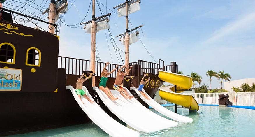 Oki Splash Park at Gran Caribe Cancun