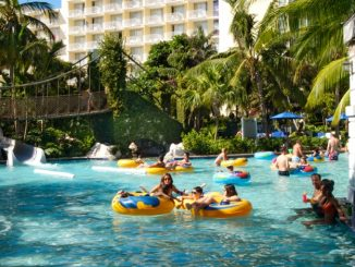 All-inclusive resort with waterpark